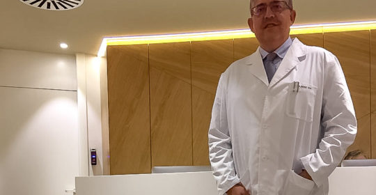 Dr. Pere Mir moves his medical office in Barcelona to the Teknon Clinic