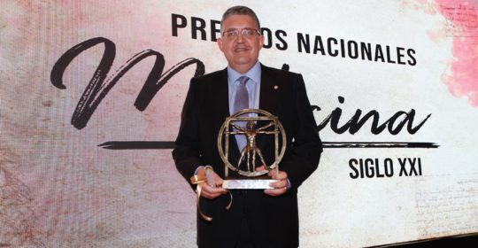 National Medicine Award XXI Century (Spain, 2018) in the specialty of Orthopedic Surgery and Traumatology