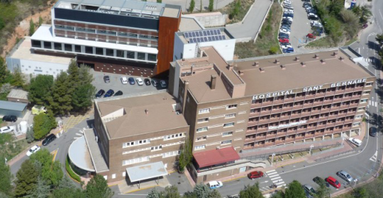 Espectacular ampliació servei Rehabilitació de l'Hospital de Berga